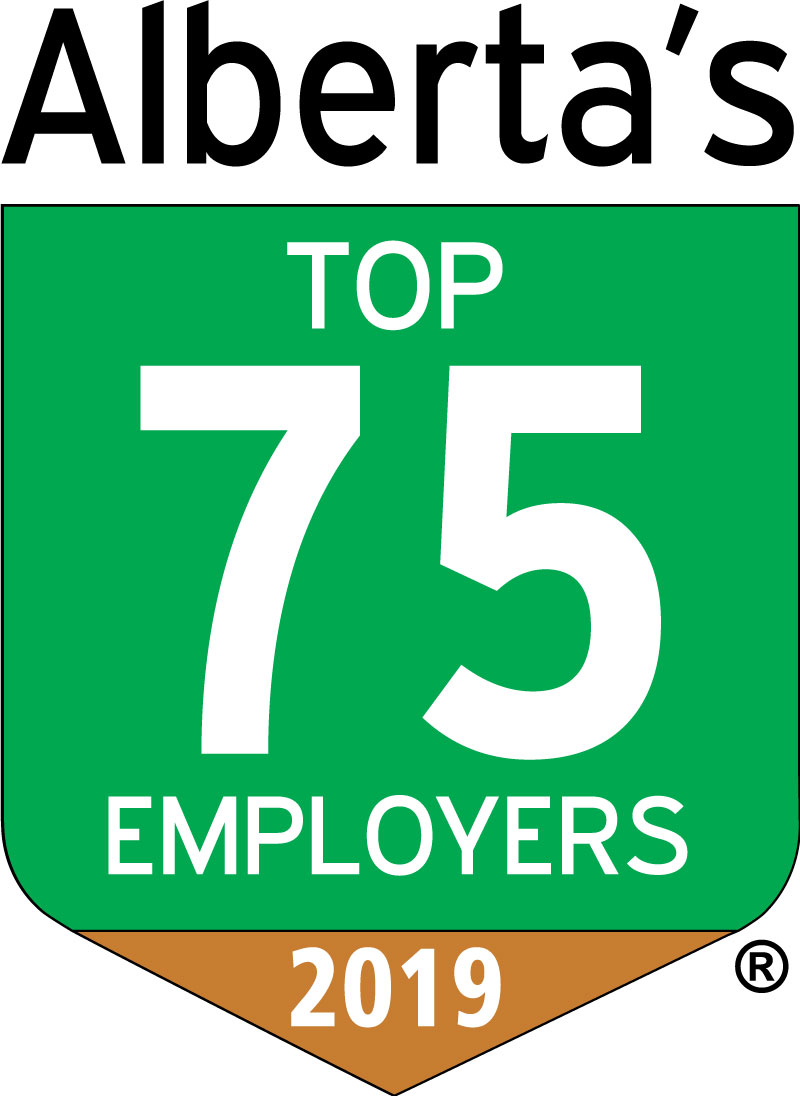 Alberta's Top 75 Employers 2019 Logo