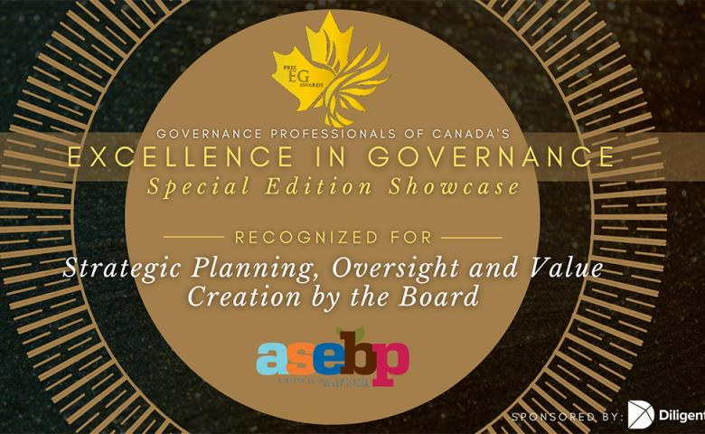 Governance Professionals of Canada's Excellence in Governance Special Edition Showcase Banner